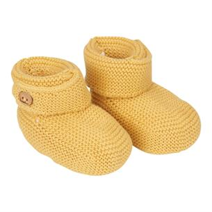 Baby booties Gritty Grain