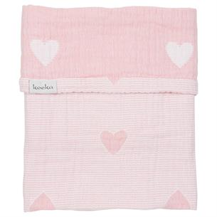 Cot blanket Altea Hearts